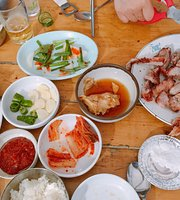 Yangpyeong Healing Centre Barbeque