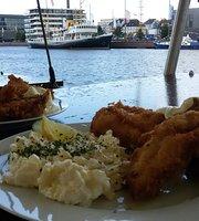 Restaurantschiff Klibfisch Backfisch