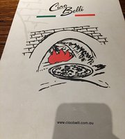 Ciao Belli Ray's Pizza Cafe