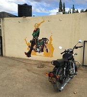 Ladakh biker cafe