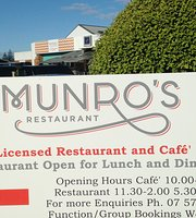 Munro's Restaurant & Cafe at the RSA