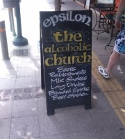"Epsilon Bar ""The Alcoholic Church"""