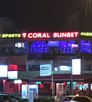 Coral Sunset Cocktail Bar