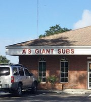 A's Giant Sandwich Shop of Arcadia