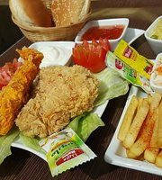 Yellow Broasted Chicken & Snack