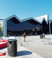 Riverside cafe at the Riverside Museum