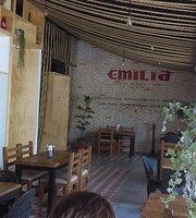 Emilia la casa de la tabla y Vino