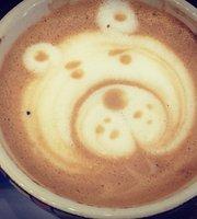 Cafe Bourbon Arte Latte