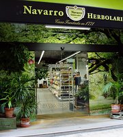 Navarro Herbolario, healthy food cafe