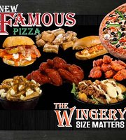 New Famous Pizza and The Wingery