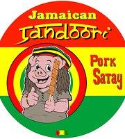 Jamaican Tandoori Pork Satay