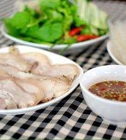 Thit Heo Hap Cuon Banh Trang - Ba Hieu