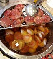 Jin Zhi Red Yeast Rice Meat Ball (Bawan)