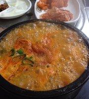 Gwon Guseong Sundae Rice Soup