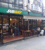 Waffle House/Subway Sandwich