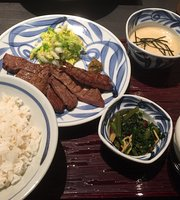 Beef Tongue and Wagyu Steak Aobaen Nishinomiya