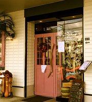 Cafe Diner Cowboy & Hulagirl