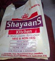Shayaans Kitchen