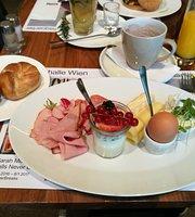 Die Halle CafeRestaurant der Kunsthalle Wien