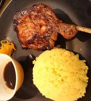 Jordan's Chicken Java + Steak Burgers