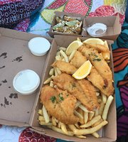 Hooked Up fish and chips
