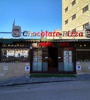 Nutella Chocolate Pizza