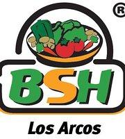 Blatt Salat Haus Los Arcos