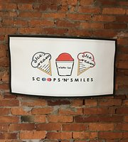 Scoops 'N' Smiles ice cream & Water Ice.