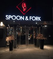 ‪spoon and fork‬