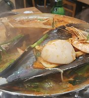 Bara Geom Seafood Steamed Dish