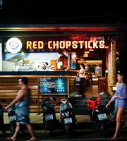 Red Chopsticks At Karon Street Food