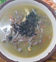 Jungmun Sudu Ribo Mal Noodles Soup