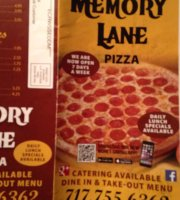 Memory Lane Pizza