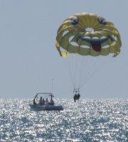 Fallskärmsflygning och skärmflygning