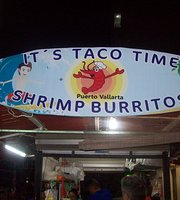 Its Taco Time Crepas Y Shrimp Burritos