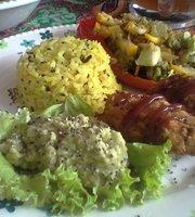 Govinda's Guatape Veggie food
