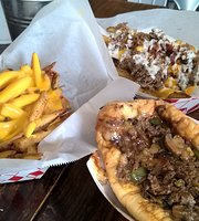 Philly Phamous Cheesesteaks @ The Rose Bush