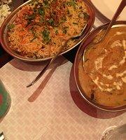 المطعم الذهب الأصفر الهندي