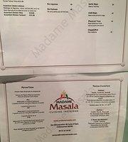 Madame Masala Cuisine Indienne