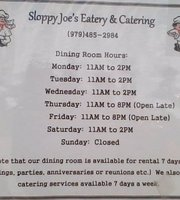 Sloppy Joe's Eatery