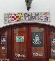 Bar pública