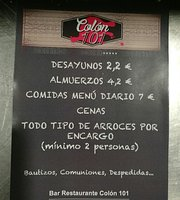 Resto Bar Colon 101