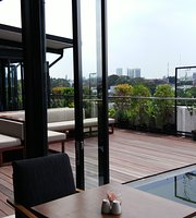 Morning Glory At Rooftop Mitra Hotel Bandung