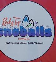 Rocky Top Snoballs