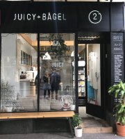 Juicy + Budapest Bagel