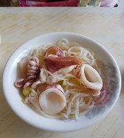 Inshore Squids Fried Rice Noodles