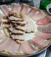 Namdo Hongtak Kimchi Soup