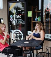 Paint Glaze & Fire Ceramics & Coffee House