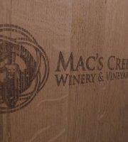 The Prairie Bistro at Mac's Creek Winery