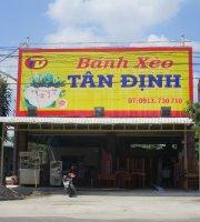 Banh xeo Tan Dinh,